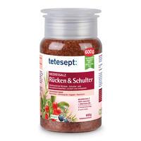 TETESEPT Záda a ramena mořská sůl 600g