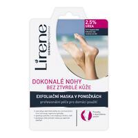 LIRENE maska exfoliační na nohy 2,5% urea