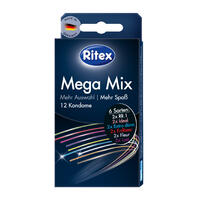RITEX kondomy Mega Mix 12ks