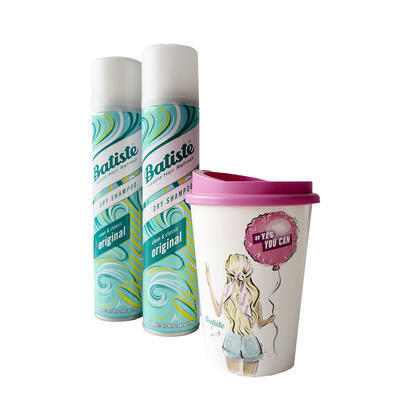 BATISTE set  2x  Original 200 ml + hrnek