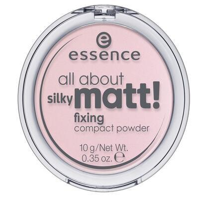 essence kompaktní pudr all about silky matt! 10
