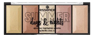 essence SUMMER days & nights rozjasňovací paletka glow bar 01 - 1
