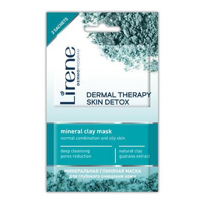 LIRENE DermalTherapy:Skin Detox pleťová maska 2x6ml
