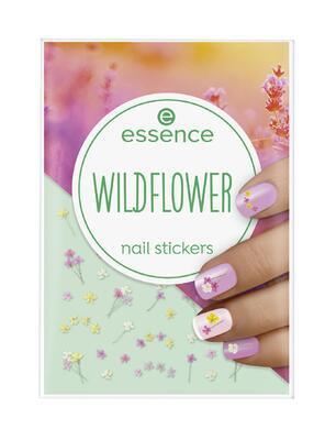 essence nálepky na nehty wildflower