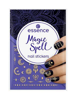 essence nálepky na nehty magic spell