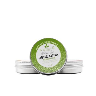 BEN&ANNA Persian Lime, metal deo 45g