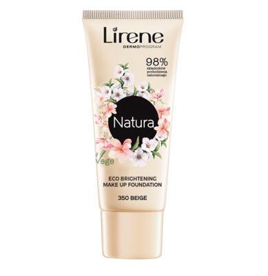 LIRENE Natura ECO rozjasňující make-up 350 BEIGE 30 ml