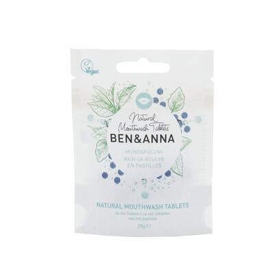 BEN&ANNA ústní voda v tabletách MINT - 1