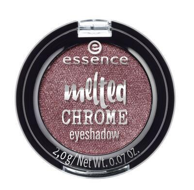essence oční stíny melted chrome 01;