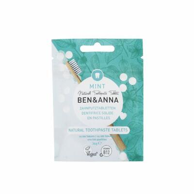BEN&ANNA zubní pasta v tabletách bez fluoridu MINT - 1