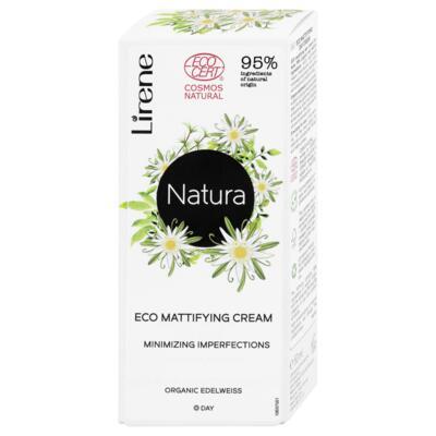 Lirene NATURA Zmatňující denní ekokrém, 50 ml