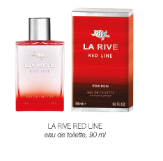 LA RIVE RED LINE, edt 90 ml