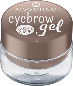 essence gel na obočí colour & shape 02/