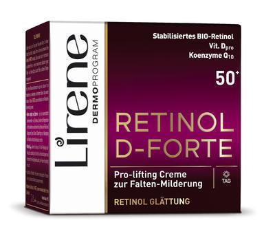 Lirene RETINOL D-FORTE 50+ denní krém 50 ml