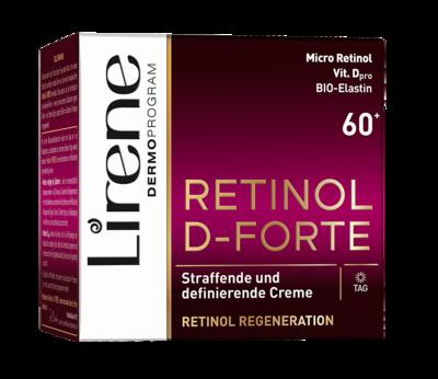 Lirene RETINOL D-FORTE 60+ denný krém 50 ml