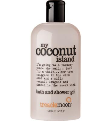 treaclemoon Coconut island sprchový gel, 500 ml