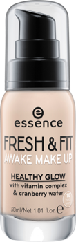 essence make-up fresh & fit awake 10; - 1