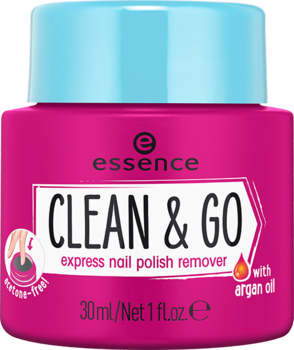 essence odlakovač clean & go,