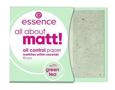 essence papírky proti mastnotě all about matt! - 1