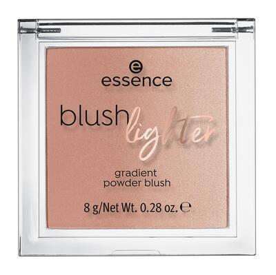 essence tvářenka a rozjasňovač blush lighter 01