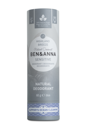BEN&ANNA Highland Breeze, sensitive deo 60g