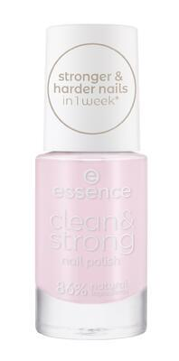 essence lak na nehty clean & strong 01