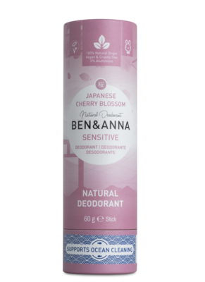 BEN&ANNA Cherry Blossom, sensitive deo 60g