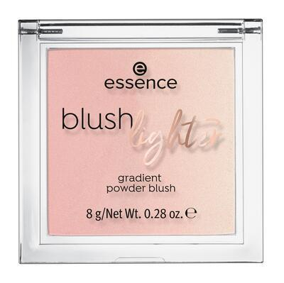 essence tvářenka a rozjasňovač blush lighter 04;