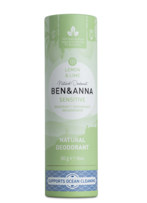 BEN&ANNA Lemon&Lime, sensitive deo 60g