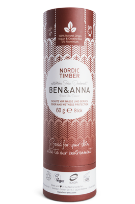 BEN&ANNA Nordic Timber, deo 60g