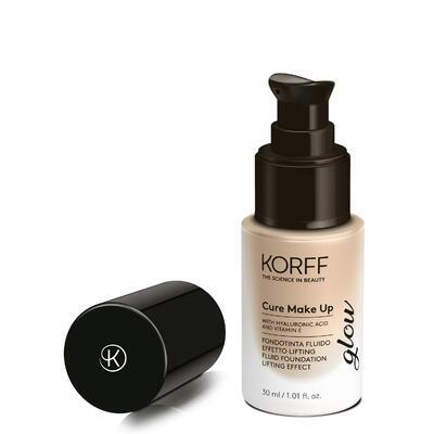 KORFF CURE MAKE UP MK FLUID FOUNDATION LIFTING EFFECT GLOW 01, 30 ml