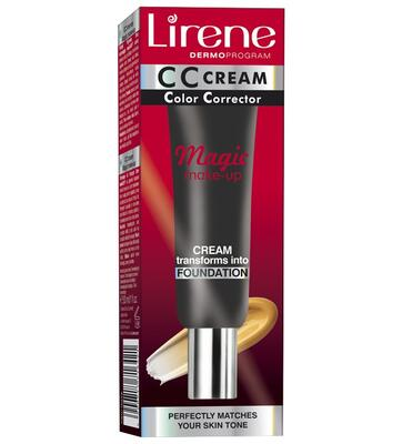 LIRENE CC KRÉM MAGIC MAKE-UP