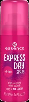 essence express sušící sprej na nehty/
