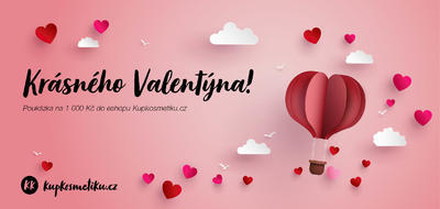 Voucher Valentýn 1000 Kč
