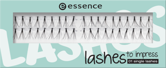 ESSENCE umělé řasy lashes to impress 01/