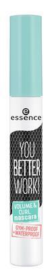 essence řasenka you better work! volume & curl - 2