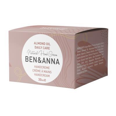 BEN&ANNA krém na ruce daily care, 30 ml - 2