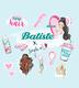 BATISTE Wonderland 200ml  suchý šampon; - 2/2