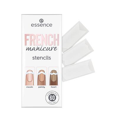 essence šablony na nehty french manicure 01 - 2