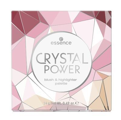 essence paletka crystal power blush & highlighter - 2