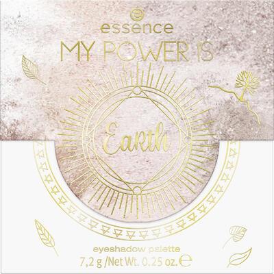 essence MY POWER IS paletka očních stínů EaRth 02 - 2