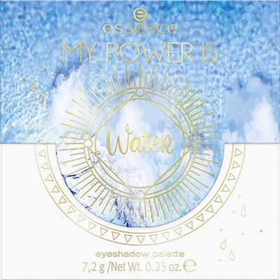 essence MY POWER IS paletka očních stínů WateR 04 - 2