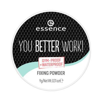 essence fixační pudr you better work! - 2
