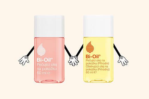 Pečující Bi-Oil skvělě hydratuje a nemastí
